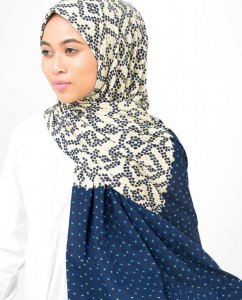 2 In 1 Viskos Jersey Hijab - Silk Route 5A413a