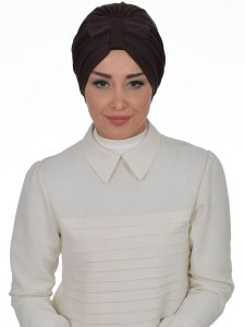 Agnes Brun Bomull Turban Cancer Krebs Ayse Turban 320605-1