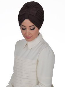 Agnes Brun Bomull Turban Cancer Krebs Ayse Turban 320605-2