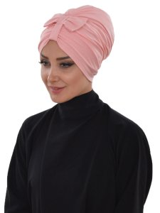 Agnes Gammelrosa Bomull Turban Cancer Krebs Ayse Turban 320607-2