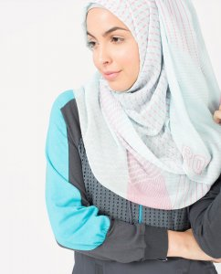 Aqua Bliss - Light Blue Regular & Maxi Hijab