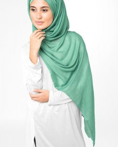Aqua Green - Mint Viscose Hijab 5HA65a