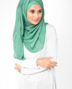 Aqua Green - Mint Viscose Hijab 5HA65c