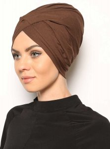 Asli Brun Turban Vera Bone Modest Fashion 120057a