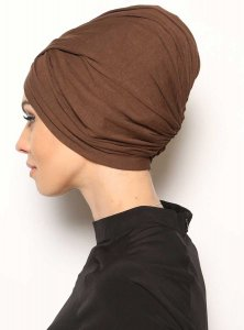 Asli Brun Turban Vera Bone Modest Fashion 120057b