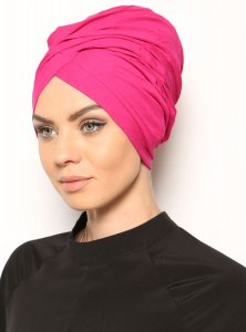 Asli Fuchsia Turban Modest Fashion Vera Bone 120055a