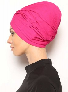 Asli Fuchsia Turban Modest Fashion Vera Bone 120055b