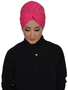 Astrid Fuchsia Bomull Turban Cancer Krebs Ayse Turban 320410-1