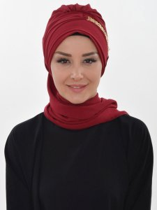 Beatrice Bordeaux Turban Ayse Turban 320906c