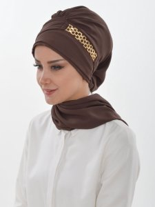 Beatrice Brown Turban Ayse Turban 320907a