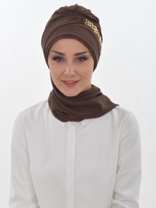 Beatrice Brown Turban Ayse Turban 320907b