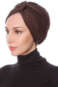 Belinay Brown Turban Ecardin 201808b