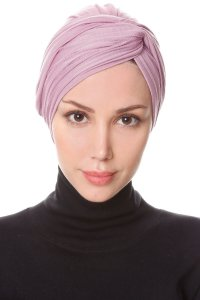 Belinay Purple Turban Ecardin 201846a