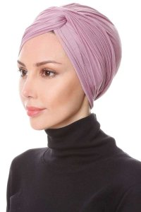 Belinay Purple Turban Ecardin 201846b