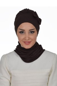 Bianca - Brown Cotton Turban