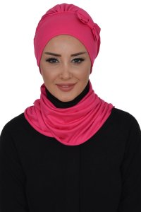 Bianca - Fuchsia Cotton Turban