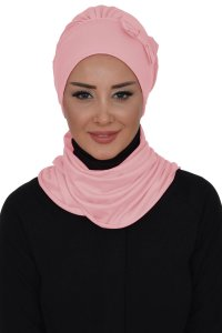Bianca - Dusty Pink Cotton Turban