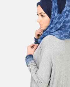 Blue Away - Blue Hijab 1