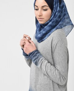 Blue Away - Blue Hijab