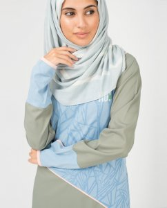 Blueline - Light Blue Viscose Hijab