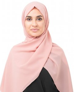 Bridal Rose Rosa Georgette Hijab InEssence 5XA33a