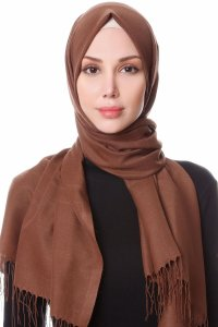 Buse Light Brown Hijab Sehr-i Sal 400123a