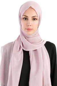 Dilsad Dusty Pink Hijab Madame Polo 130023-1