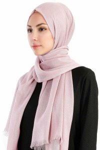Dilsad Dusty Pink Hijab Madame Polo 130023-2