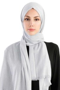 Dilsad Grey Hijab Madame Polo 130020-1