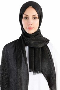 Dilsad Black Hijab Madame Polo 130016-1