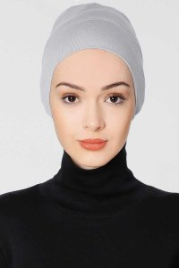Elma Light Gray Tube Underscarf Ecardin 200328b
