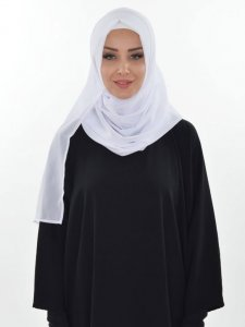 Evelina White Practical Hijab Ayse Turban 327402a