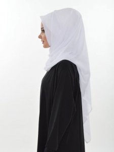 Evelina White Practical Hijab Ayse Turban 327402b