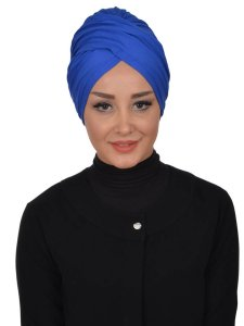Fiona Blue Turban Ayse Turban Modest Fashion Online 329312a