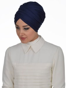 Fiona Navy Blue Turban Ayse Turban Modest Fashion Online 329302b