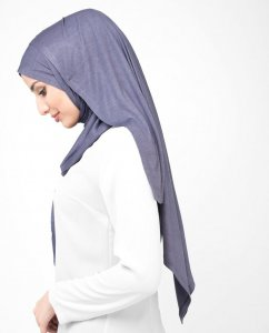 Gray Ridge - Light Purple Viscose Jersey Hijab Shawl Scarf InEssence Ayisah 5VA46b