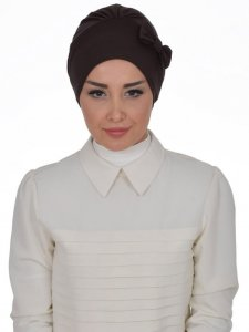 Halima Brown Turban Ayse Turban Tasarim 321709b