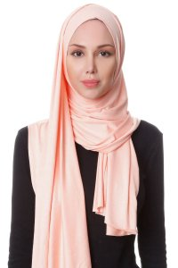 Hanfendy Apricot Practical One Piece Hijab Scarf Shawl 201743a