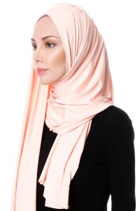 Hanfendy Apricot Practical One Piece Hijab Scarf Shawl 201743b