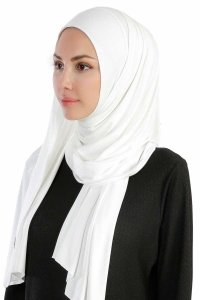 Hanfendy Creme Practical One Piece Hijab 201705-2