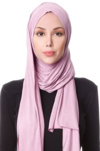 Hanfendy Purple Practical One Piece Hijab Scarf Shawl 201746a