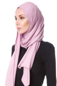 Hanfendy Purple Practical One Piece Hijab Scarf Shawl 201746b
