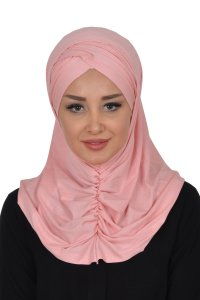 Hilda - Dusty Pink Cotton Hijab