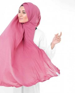 Honey Suckle Fuchsia Viskos Jersey Hijab InEssence 5VA56c