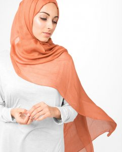 InEssence - Ginger Spice Viscose Maxi Hijab From Silk Route