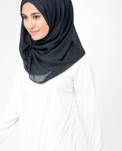InEssence Patriot Blue Viskos Hijab 5HA8a