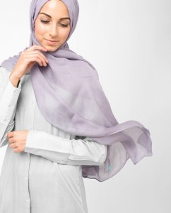 InEssence Purple Ash Viscose Hijab 5HA14