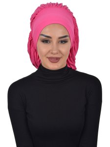 Isabella Fuchsia Bomull Turban Cancer Krebs Ayse Turban 322510-1