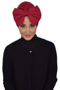 Julia - Bordeaux Bomull Turban