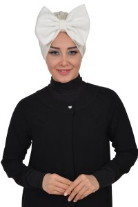 Julia - Creme Cotton Turban